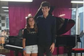 Premio extraordinario del Conservatorio para dos jóvenes músicos de Formentera