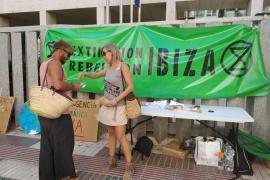 Extinction Rebellion Ibiza organiza una mesa informativa sobre emergencia climática