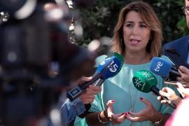 """Díaz pide a Junta y Gobierno que """"aúnen esfuerzos"""" y reclamen reacción a UE"""