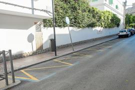 Vila amplía el vado de Vía Romana para que las familias dejen a los niños en el colegio