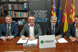 Las patronales de pequeño y mediano comercio renuevan su convenio con Banc Sabadell
