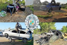 La Policía Local de Sant Josep retira 235 vehículos abandonados en lo que va de año