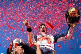 Marc Márquez conquista su sexto título de MotoGP
