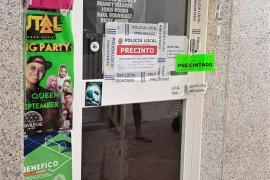 La Policía de Sant Antoni precinta un club clandestino de fumadores de cannabis
