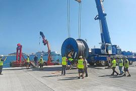 Red Eléctrica invierte 500.000 euros para reparar el enlace entre las Pitiusas