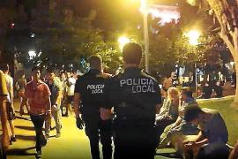 Dos detenidos y 53 actas por drogas durante los cierres en Sant Josep