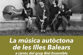 La música autóctona de Baleares suena este sábado en Ibiza con el concierto de Biel Ensemble