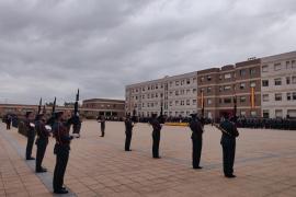 Acto de celebración de la Patrona de la Guardia Civil en Cataluña en la comandancia de Sant Andreu de la Barca (Barcelona)