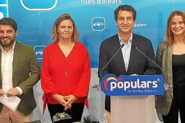 Presentación de los candidatos del PP