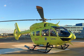 Sepla denuncia la «inseguridad» de los helicópteros del servicio sanitario de Baleares