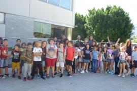 Alumnes de 3r i 4rt de primària del CEIP C'an Pastilla varen visitar Tirme Es Parc i Grup Serra