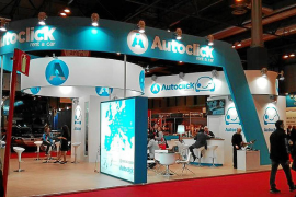 Imagen del estand de Autoclick en Fitur del año pasado