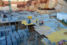 El Ayuntamiento de Sant Josep ordena la paralización de las obras de Vadella 24