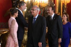 Recepción con motivo la Fiesta Nacional en Madrid