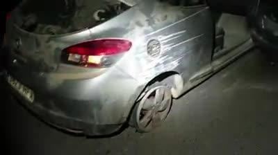 La Policía Local de Sant Josep recupera un coche robado que había sufrido un accidente