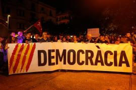 Las protestas por la condena a los líderes del 'procés' llegan a las Islas Pitiusas