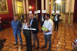 Vox pide la ilegalización de Més