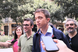 Íñigo Errejón, junto a Juan Antonio Geraldes