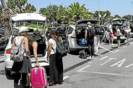 Ibiza detecta un total de 147 infracciones por intrusismo en el transporte este verano