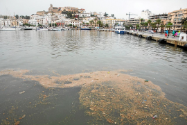 Las pruebas del tanque de tormentas del puerto de Ibiza empezarán la próxima semana