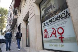 Pintadas independentistas Palma