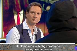 El testigo 29 en una intervención en Televisión Española