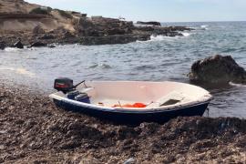 Nueva llegada de pateras a Formentera