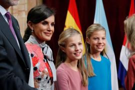 Audiencias de los Reyes y la princesa Leonor en el hotel Reconquista