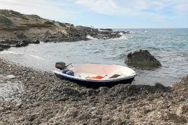 Trece inmigrantes detenidos tras la llegada de una nueva patera a Formentera