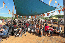 Jazz para animar el 'mercat' en Forada