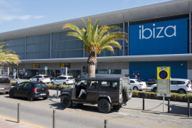 El aeropuerto de Ibiza, el que más desciende su tráfico diario en septiembre