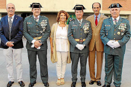 Fiesta de la patrona de la Guardia Civil