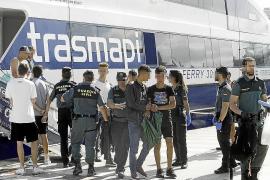 Aumentan a 31 los migrantes interceptados el fin de semana en Ibiza y Formentera