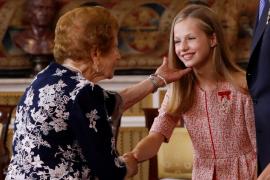 El rey preside el acto de imposición de condecoraciones a ciudadanos en el V aniversario de su reina