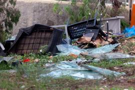 Los daños causados por un tornado en Sant Antoni, en imágenes .