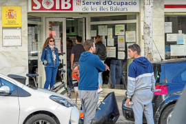 El paro en Baleares durante el tercer trimestre aumenta un 15 % respecto a 2018