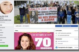 La búsqueda policial de Malén Ortiz choca contra el muro de Facebook