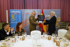 Despedida de Juan Cifuentes como comandante general de Baleares