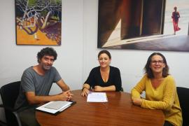 """El sobrino de """"Puchi Puchi"""" dona una obra a Formentera en memoria de su tío"""