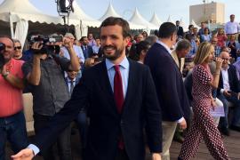 El candidato del PP, Pablo Casado, visita Gran Canaria