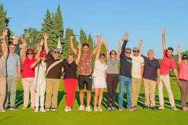 Amistad en el campo de golf