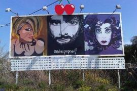 Personajes famosos y mujeres protagonizan la nueva exposición de Andrea Pop Naif