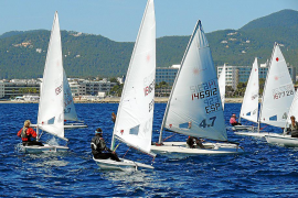 La flota ibicenca, a Menorca