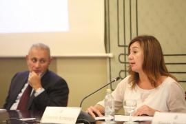 Armengol pide la «cooperación entre regiones» para «superar los retos climáticos» en la conferencia sobre el Mediterráneo
