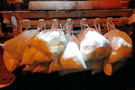 Huelga de recogida de basuras en Inca