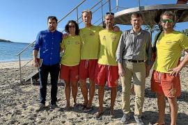 Los socorristas de Ibiza prestaron este verano 379 asistencias, casi un 50 % menos que en 2018