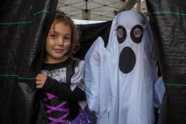 La celebración de Halloween y 'Tots Sants' en la isla de Ibiza, en imágenes (Fotos: Toni P. / Daniel Espinosa / Marcelo Sastre).