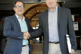 Emérico Fuster y Juan Besalduch, los dos candidatos.