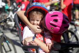 El Día del Pedal en Ibiza, en imágenes (Fotos: Daniel Espinosa).