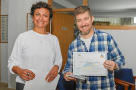 Diploma al 'Periódico de Ibiza y Formentera' por colaborar con 'Un Mar de posibilidades'